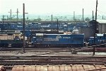 CR GP30 2174, U23B 2788, and GP38-2 8167